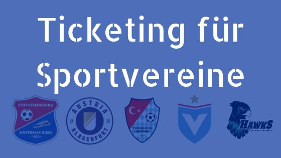 Banner Ticketing für Sportvereine